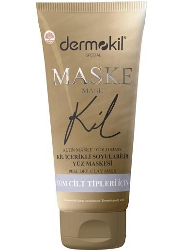 Dermokil Dermokil Kil İçerikli Gold Maske 75g Renksiz